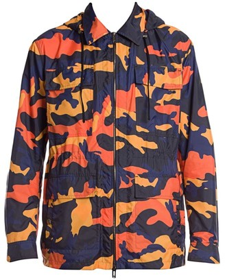 Valentino Caban Camo Windbreaker Jacket