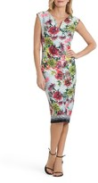 ECI Women's Print Body-Con Dress