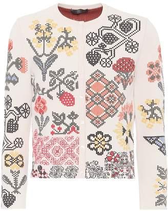 Alexander McQueen Silk-blend cardigan