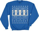 Ripple Junction Doctor Who S7 12th Tardis Pattern Cropped Adult Sweatshirt 2XL