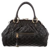 Marc Jacobs Quilted Stam Satchel