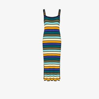 Solid & Striped Striped knit dress