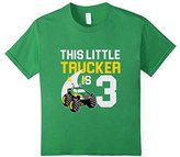 Kids 3rd Birthday Boys Monster Truck T-Shirt Cool 3 Year Old