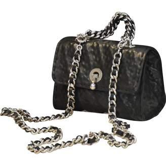 Ermanno Scervino Black Leather Handbags