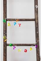 Kikkerland 'Happy Birthday' String Lights