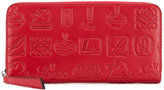 Loewe Signature zip around wallet
