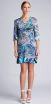 Julian Chang Kina V-neck Shift Dress