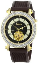 Freelook Women's HA7122G-2 Colisee Colisee Stainless-Steel Case Brown Dial and Brown Band Watch