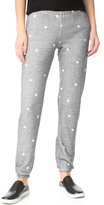 Wildfox Couture Football Star Burnout Fleece Sweats