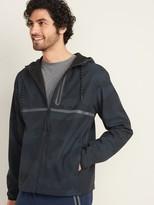 Old Navy Go-H20 Water-Repellent Hooded Zip Jacket for Men