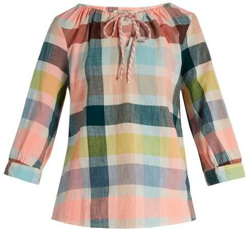 Ace&Jig Rosa Checked Cotton Top - Womens - Multi