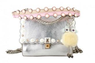 Fendi Kan I Metallic Leather Handbags