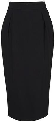 Versace Midi black skirt