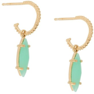 Wouters & Hendrix I Play chrysoprase earrings