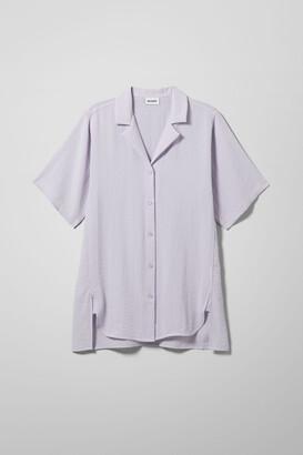 Weekday Nessa Shirt - White