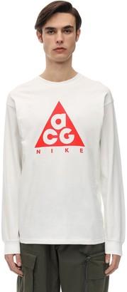 Acg Logo Jersey L/s T-shirt