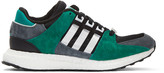 adidas Black & White Equipment Support Sneakers