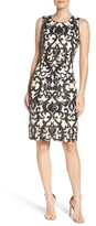 Vince Camuto Women's Mesh Sheath Dress
