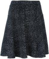 Steffen Schraut flocked A-line skirt