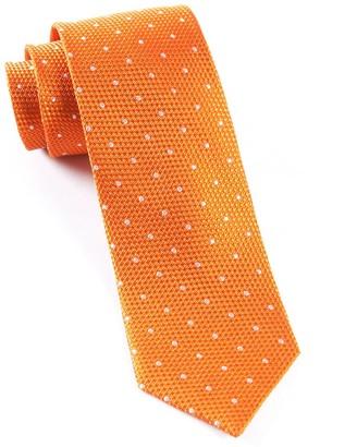 The Tie BarThe Tie Bar Tangerine Grenafaux Dots Tie