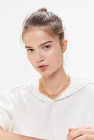 Urban Outfitters Cara Wide Cable Chain Necklace