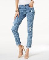 MICHAEL Michael Kors Dillon Ripped Straight-Leg Jeans