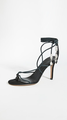 Isabel Marant Askee High Heeled Strappy Sandals