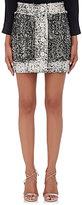 Christopher Kane Women's Embellished Wool Skirt-TAN