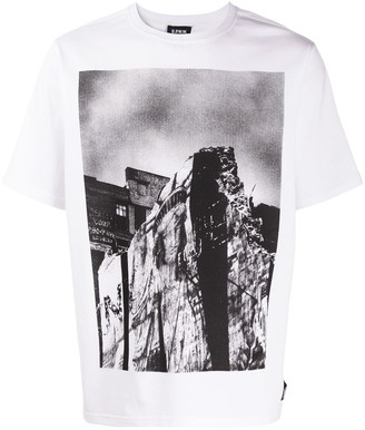 U.P.W.W. photo print T-shirt