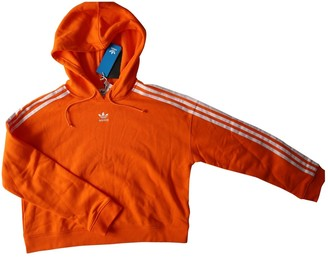 adidas Orange Cotton Knitwear for Women