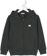 Dolce & Gabbana zipped hoodie - kids - Cotton - 3 yrs