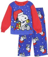 Peanuts Snoopy Christmas Toddler Pajama 2 Piece Set