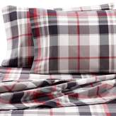 Seasons The Collection® Heavyweight Flannel Plaid Twin Sheet Set in Red