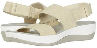 Clarks Arla Jacory (Black Solid) Women's Sandals