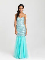 Madison James - 16-300 Dress in Aqua