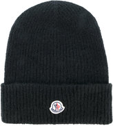 Moncler classic knitted beanie hat - women - Polyamide/Wool/Alpaca - One Size