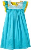 Masala Zuri Dress (Toddler/Kid) - Turquoise-3 Years
