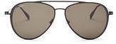 Salvatore Ferragamo Gancini Aviator Sunglasses, 57mm