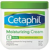 Cetaphil Moisturizing Cream, Fragrance Free, 16 Ounce (Pack of 2)