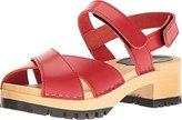 Swedish Hasbeens Women's Cross Tracta Flat Sandal