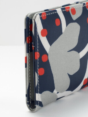 White Stuff Floral Coated Canvas Cardholde