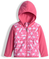 The North Face Glacier Shibori-Print Hooded Micro-Fleece Jacket, Pink, Size 3-24 Months