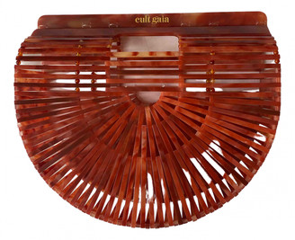 Cult Gaia Acrylic Ark Brown Synthetic Clutch bags