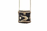 Forest of Chintz Black Sake Special Brew Pendant Necklace