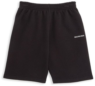 Balenciaga Little Kid's & Kid's Logo Shorts