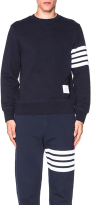 Thom Browne Classic Sweatshirt in Navy | FWRD