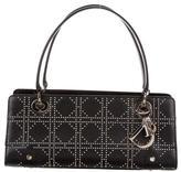 Christian Dior Studded Cannage Petit Shopper Bag