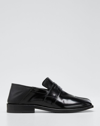 Maison Margiela Tabi Split-Toe Leather Loafers