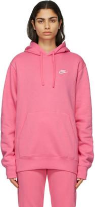 Nike Pink Sportswear Club Hoodie