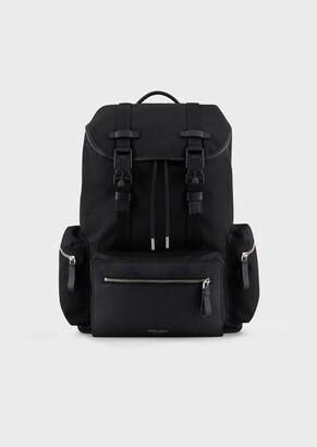 Giorgio Armani Waterproof Nylon Backpack